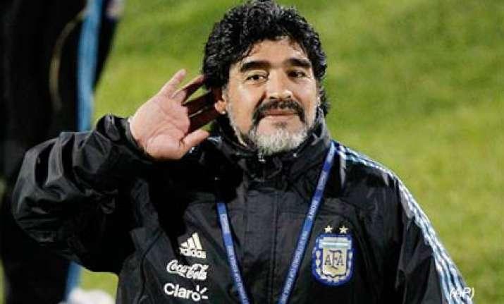 maradona hits out at pele and platini