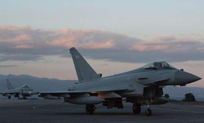 british air force jets intercept russian bombers nearing uk