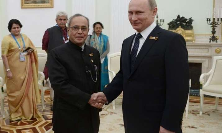 cooperation in space defence with russia deepened pranab