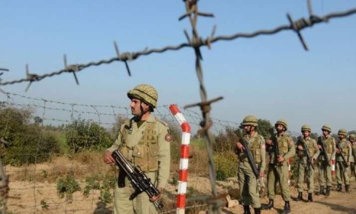 pak rangers term border firing a small scale war