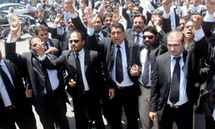pakistan bar council observes black day