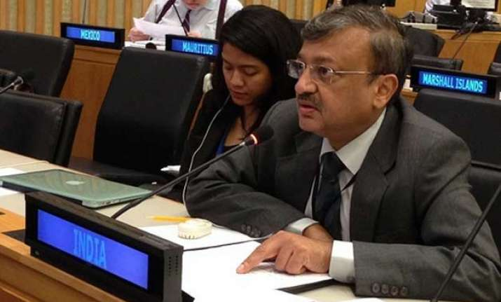 india committed to reconstruct nepal india tells un