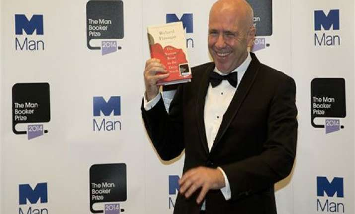 australia s richard flanagan wins booker fiction prize