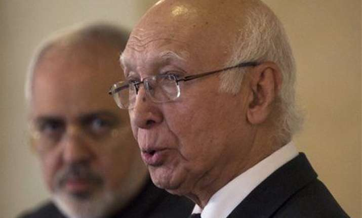 american mediation on kashmir not demand just a wish sartaj