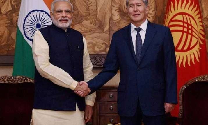 india kyrgyzstan can do much together to ensure regional