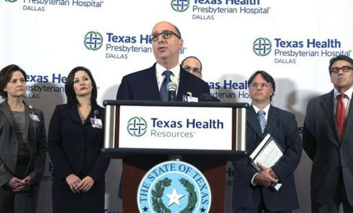 hospital dallas ebola patient critical