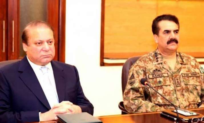 nawaz sharif army chief discuss afghanistan situation amid