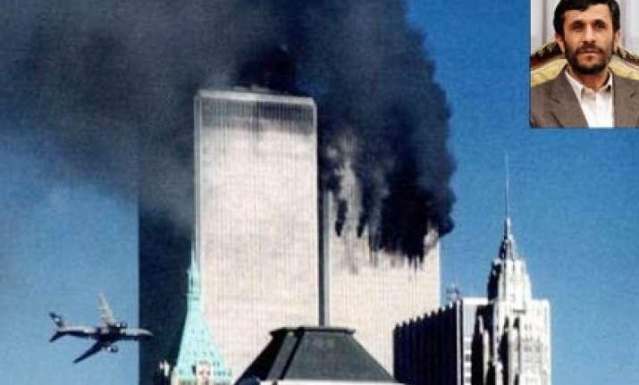 ahmedinejad says 9/11 attacks in us a big lie