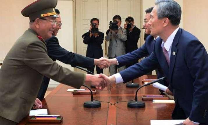 north south korea end marathon crisis talks