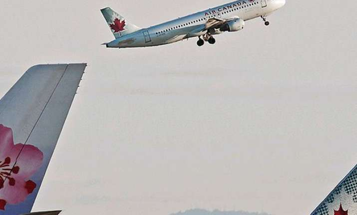 air canada flight crashes on runway no major injuries