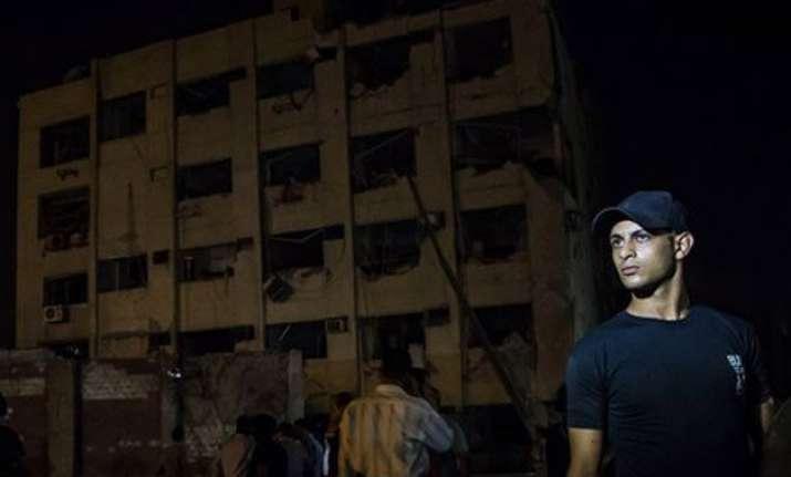 blast near cairo security building injures six