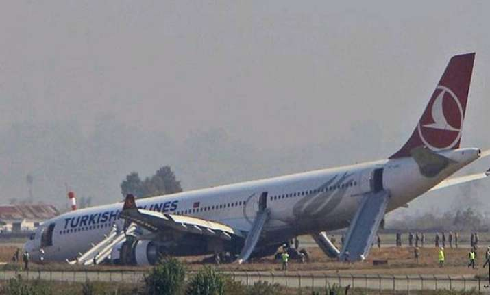 nepal s only international airport reopens after runway