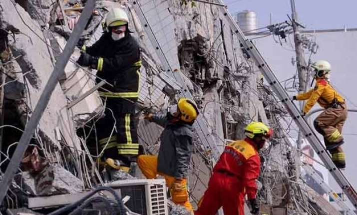 taiwan holds nationwide mourning for quake victims