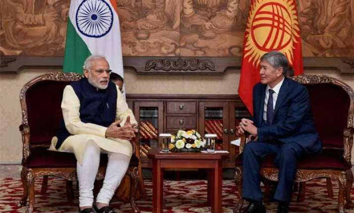 india kyrgyzstan voice concern over extremism and terrorism