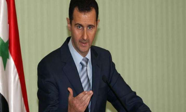 assad supports russian role in resolving syrian crisis