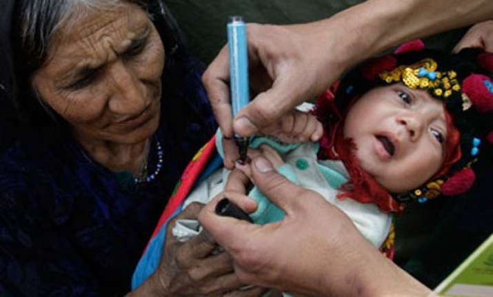 first ever polio injection drive launched in pakistan