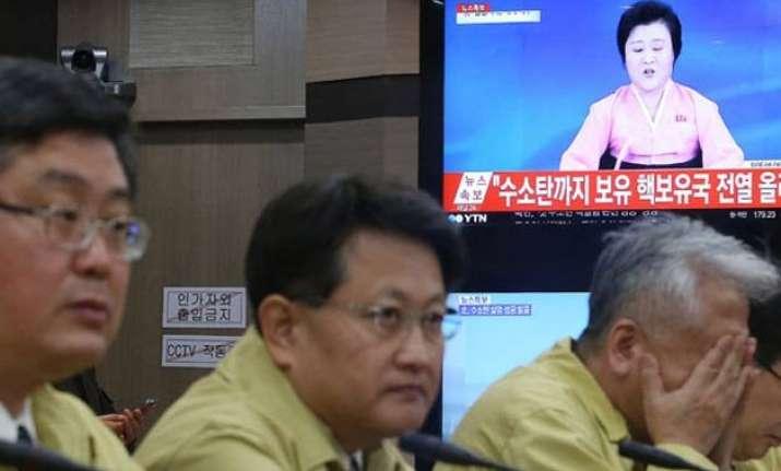 condemnation doubt greet north korea s h bomb announcement