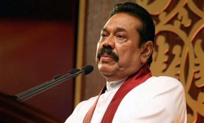 former sri lankan president mahinda rajapaksa blames india