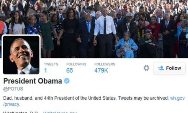 finally president obama gets his own account on twitter
