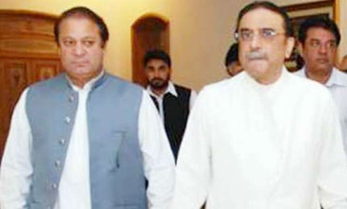 sharif backs out of move to clip zardari powers
