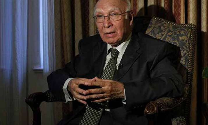 pakistan wants result oriented dialogue with india sartaj