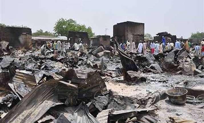 boko haram attack in nigeria s baga town displaces 3 200