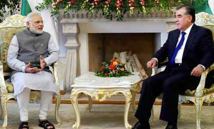 modi visit india tajikistan to boost anti terror cooperation