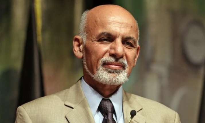 china lays out red carpet for ghani on his first visit