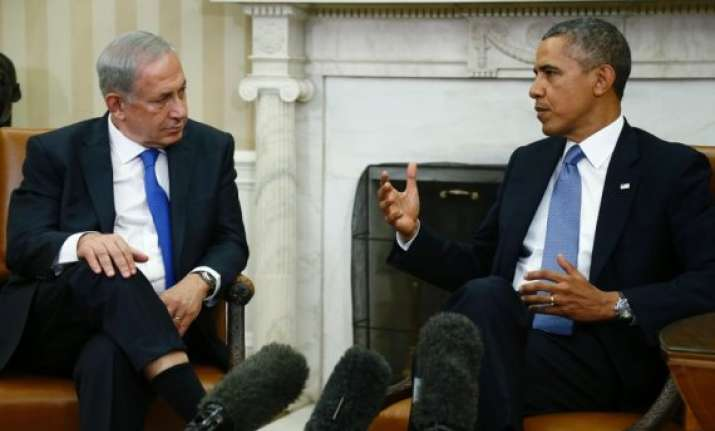 obama netanyahu talk focus on peace iran and terrorism