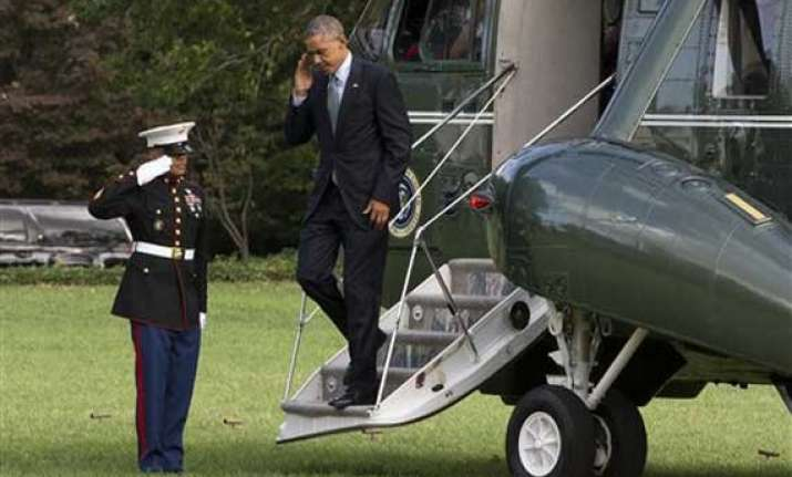 barak obama cancels thursday travel to monitor ebola