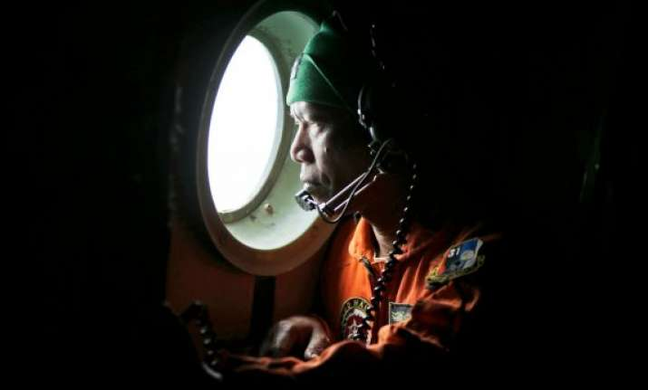 area for search of missing airasia flight fixed