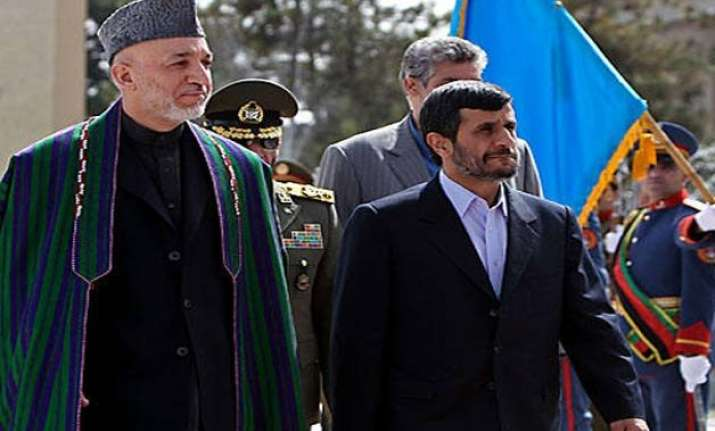 iran afghanistan join hands against drug trafficking
