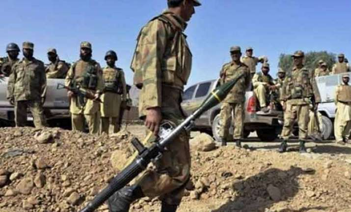 nine militants killed in pakistan
