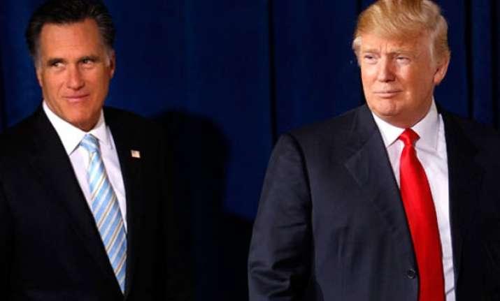 donald trump is a phony a fraud mitt romney