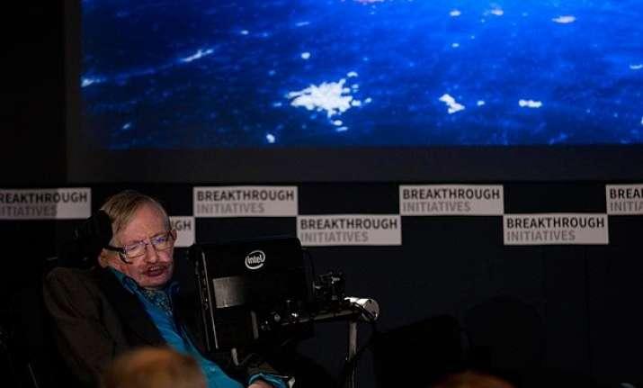 british physicist stephen hawking launches 100 million