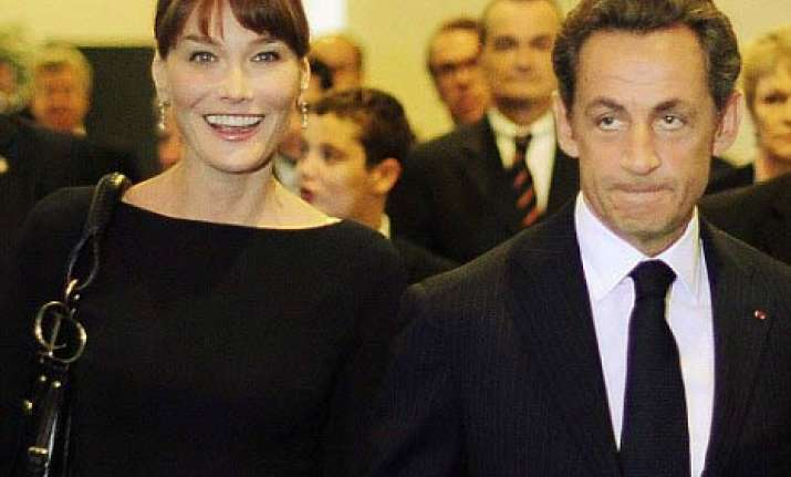 after osama s threat security stepped up for carla bruni