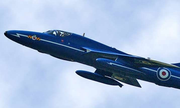 single seat jet crashes at uk airshow several casualties