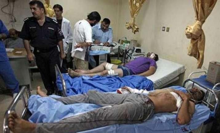 baghdad suicide bomb hits army recruits kills 60