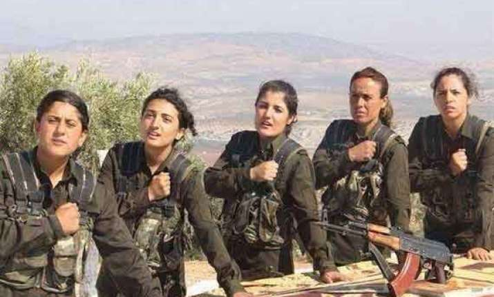 kurdish women fighters an unprecedented example of equality