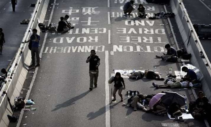 no images of hong kong protests in china s media