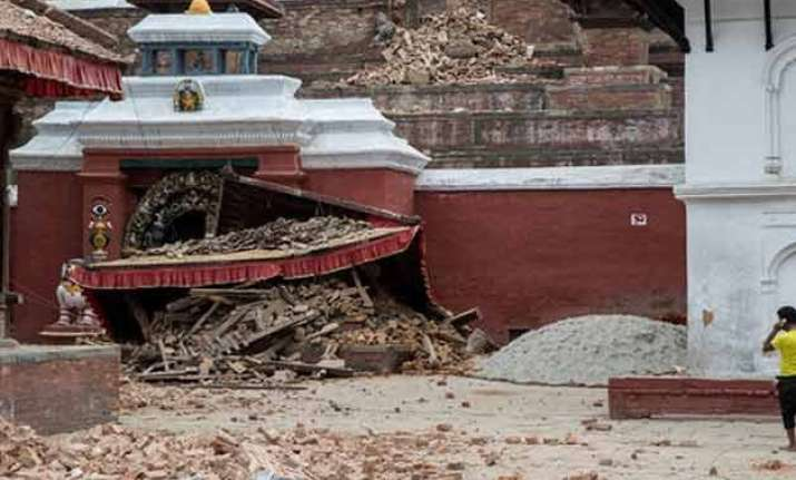 nepal earthquake takes heavy toll of hindu temples