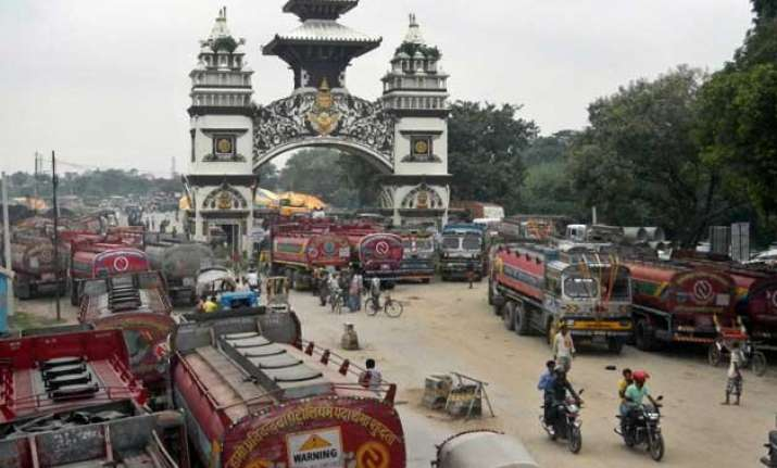 nepal gets respite as cargo trucks enter from india