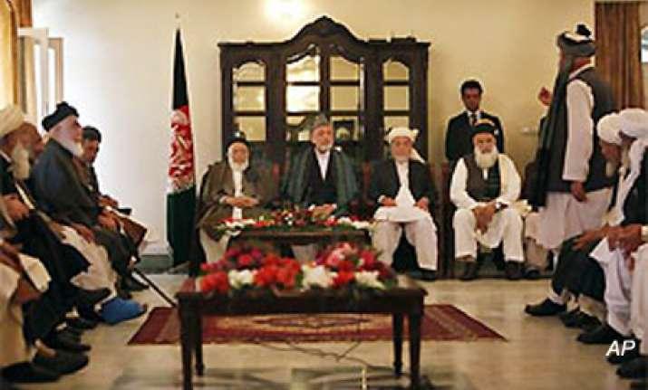 taliban hold secret talks with afghan president