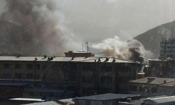 huge blast in kabul casualties expected