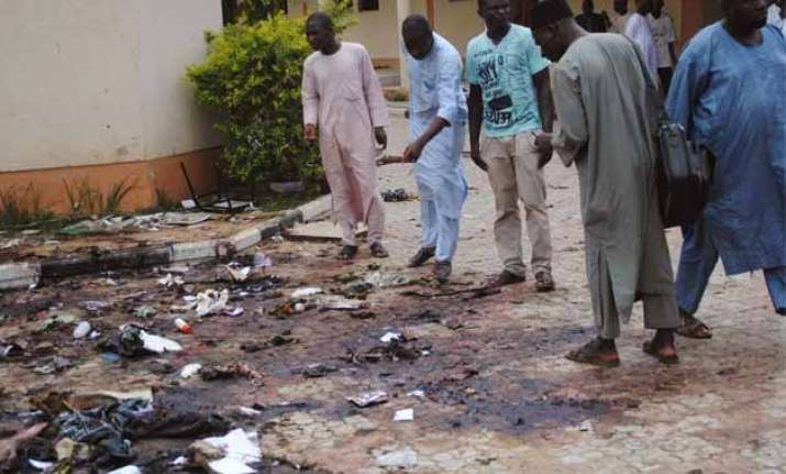 suicide bomber kills at least 10 in northern cameroon