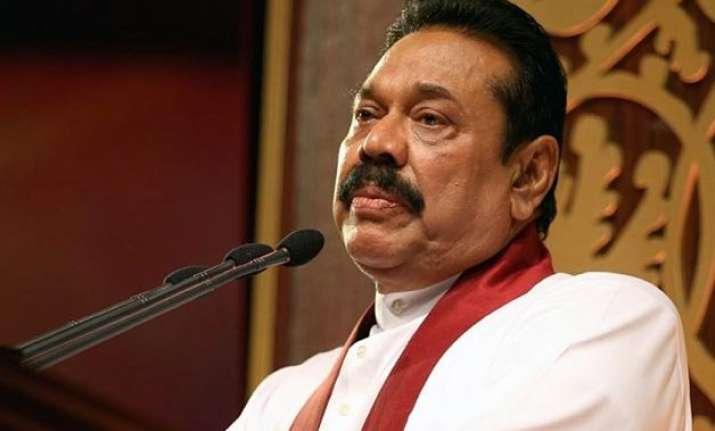 former president rajapaksa accepts defeat in lankan