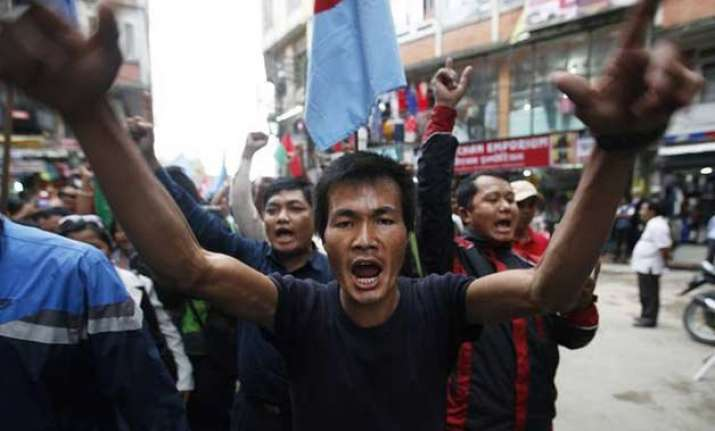 nepal government forms team for dialogue with agitating