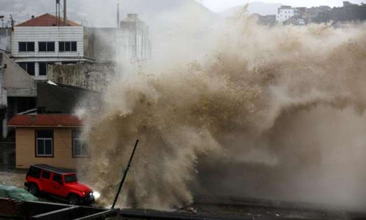 china evacuates over 8 lakh ahead of typhoon
