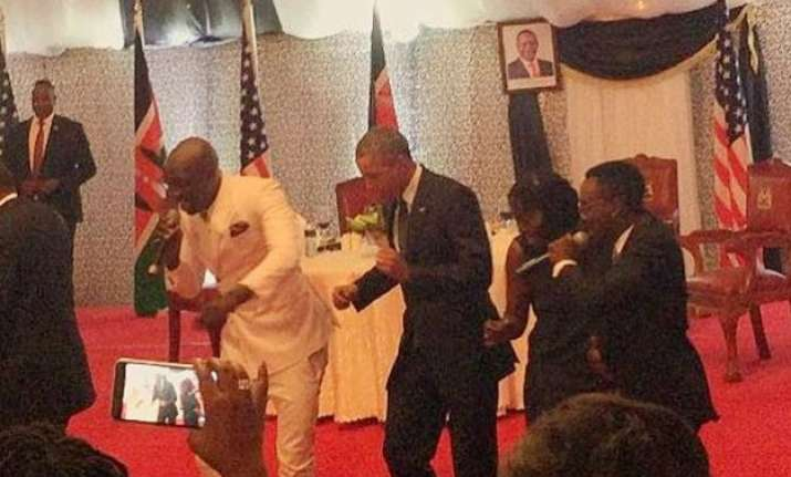 watch video when president obama shows off dance moves in