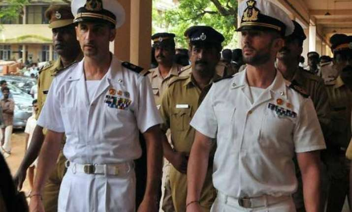 india offers to complete italian marines trial within 4